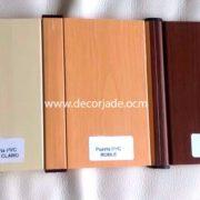 colores puertas plegables de pvc lisa