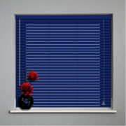 persianas horizontales de aluminio 25mm cortinashd -03 – azul