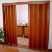 puertas plegables de pvc lisa