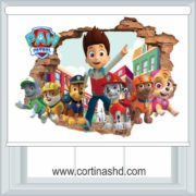 Cortinas Roller Paw Patrol Black Out Cortinashd