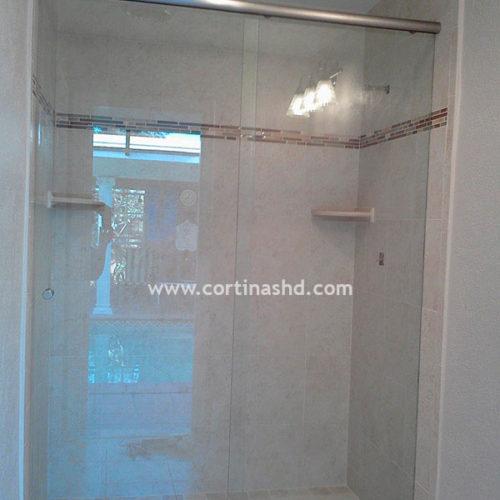 puertas de duchas de vidrio templado cortinashd precios